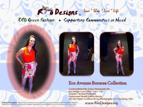 Rio Designs ECO Green Fashion 1